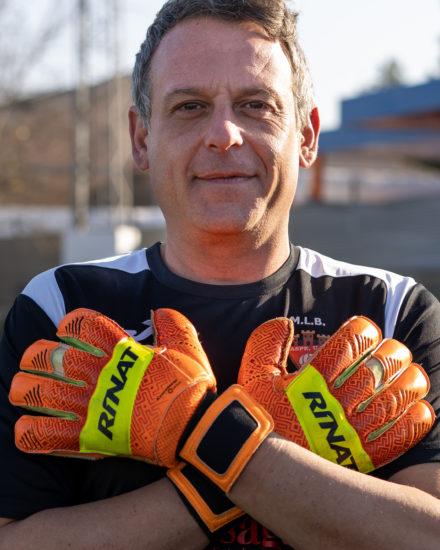 Jose Manuel Segura es jugador del equipo Veteranos del Aspe Unión Deportiva