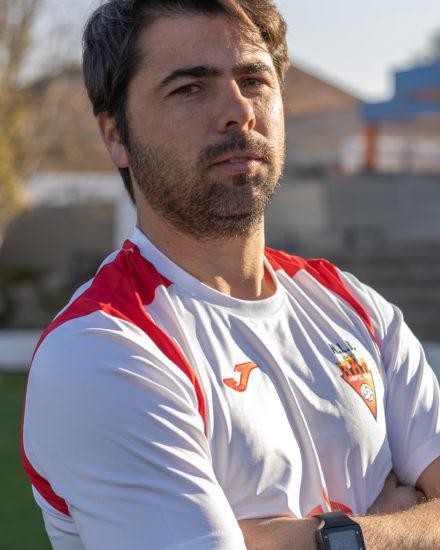 Samuel Gómez Cutillas es jugador del equipo Veteranos del Aspe UD