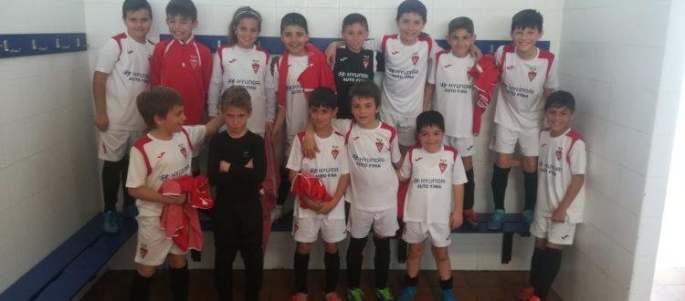 Partido Benjamín B frente al Kelme CF C