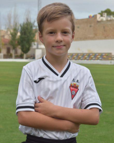 Izan García López es jugador del Aspe UD