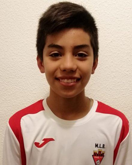 Pablo Blanes Calderón jugador del Aspe Unión Deportiva