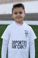 Antonio Cano Cantó es jugador del Prebenjamín del Aspe UD