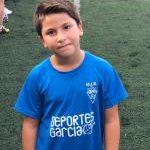 Carlos Cremades Ferrández es jugador del Aspe UD Benjamín A