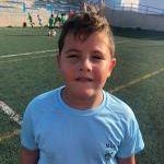 César Esplá es jugador del Aspe UD Prebenjamín