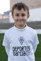 Darío Ramírez Vicente es jugador del Aspe UD Prebenjamín