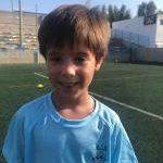 Eidan Cortés Del Valle es jugador del Aspe UD Prebenjamín