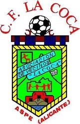 Escudo CF La Coca de Aspe