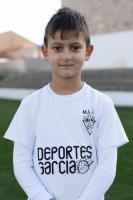 Javier Botella Rodríguez es jugador del Aspe UD Prebenjamín