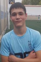 Mario Cañadas Giménez es jugador del Cadete A del Aspe UD