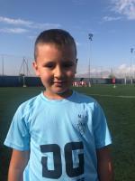 Nicolás Cantó Sellés es jugador del Aspe UD Prebenjamín