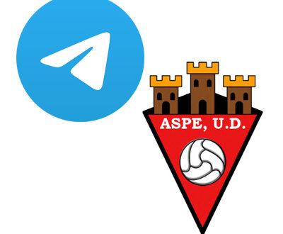 El Aspe UD abre su nuevo canal de Telegram