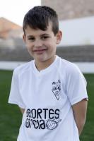 Víctor Aznar Molina es jugador del Aspe UD Benjamín B