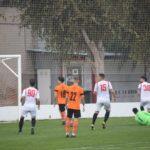 Lances del partido de fútbol entre el Aspe UD y el Catral CF