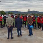 Visita del Alcalde y la Concejala de Deportes al Senior A