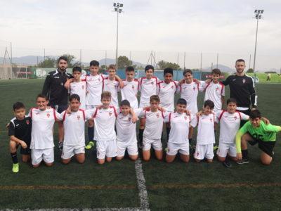 Equipo Infantil C del Aspe Unión Deportiva - Campeón Liga Plata