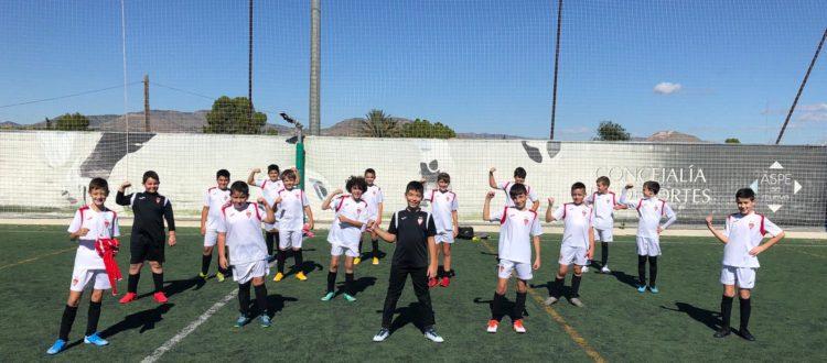 Alevín A del Aspe Unión Deportiva