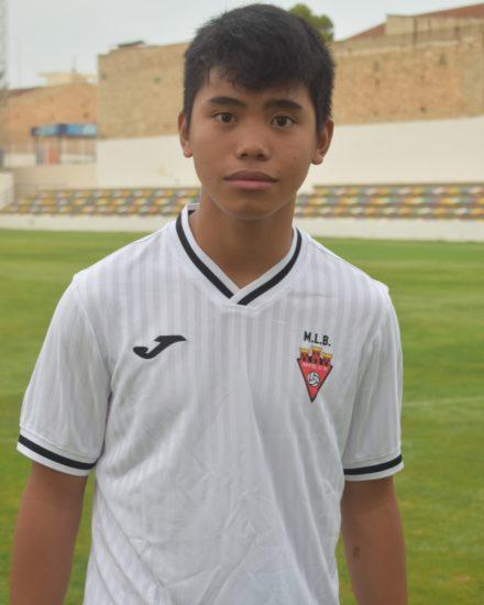 Ángelo Vicedo Tortosa es jugador del Aspe UD