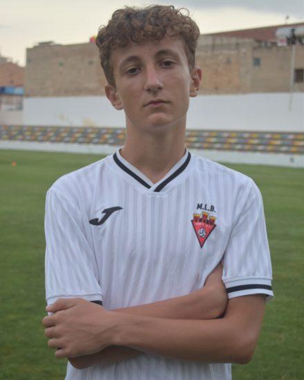 Carlos Carbonell García es jugador del Aspe UD
