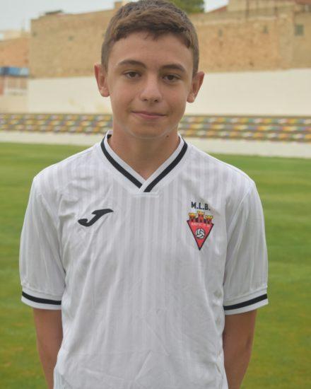 Gabriel Pérez Lara es jugador del Aspe UD