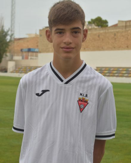 Marcos Cerdán Arenas es jugador del Aspe UD