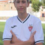 Marcos Caparrós Martínez es jugador del Aspe UD
