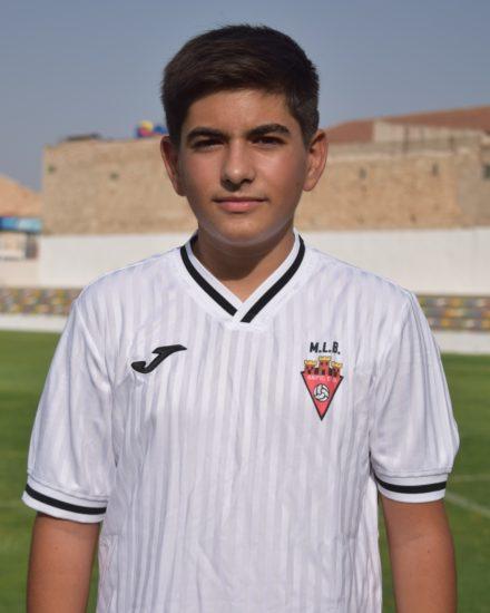 Bryan Caparrós García es jugador del Aspe UD