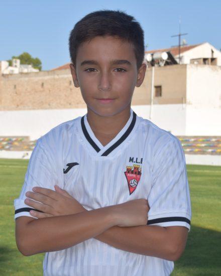 Pablo Molina Alberola es jugador del Aspe UD