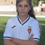 Eva Gómez Martínez es jugadora del Aspe UD
