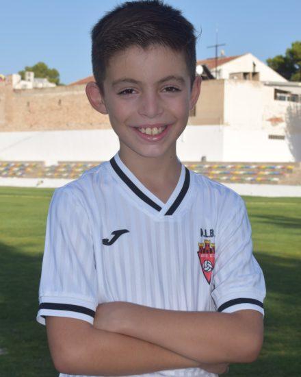Izan Sánchez Marco es jugador del Aspe UD