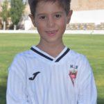 Eidan Cortés Del Valle es jugador del Aspe UD