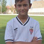 Javier Botella Rodríguez es jugador del Aspe UD