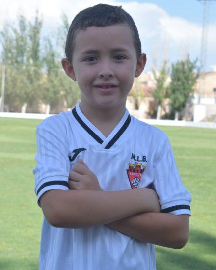 Luis Yáñez Martínez es jugador del Aspe UD