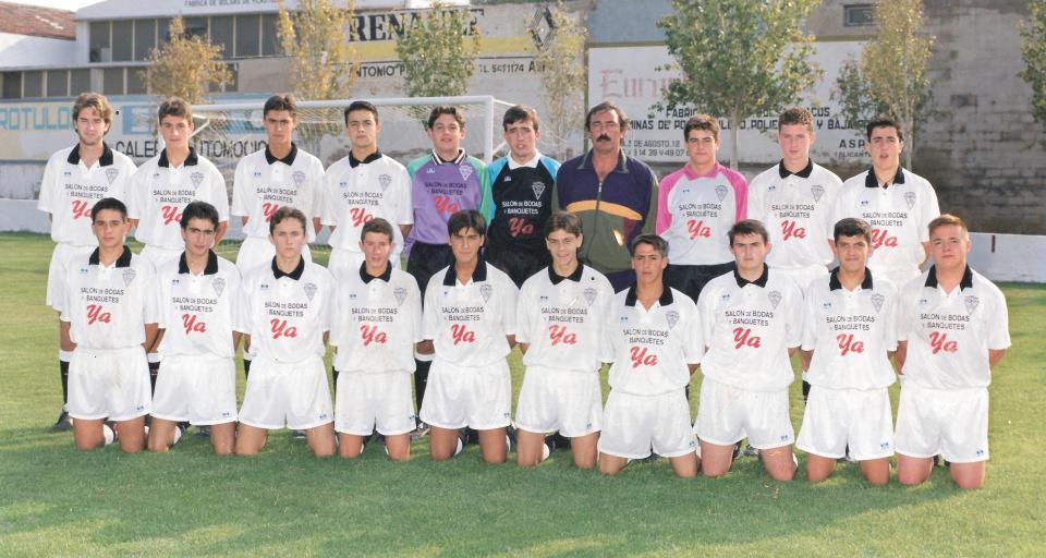 Equipo Juvenil Aspe FC Temporada 1994-1995