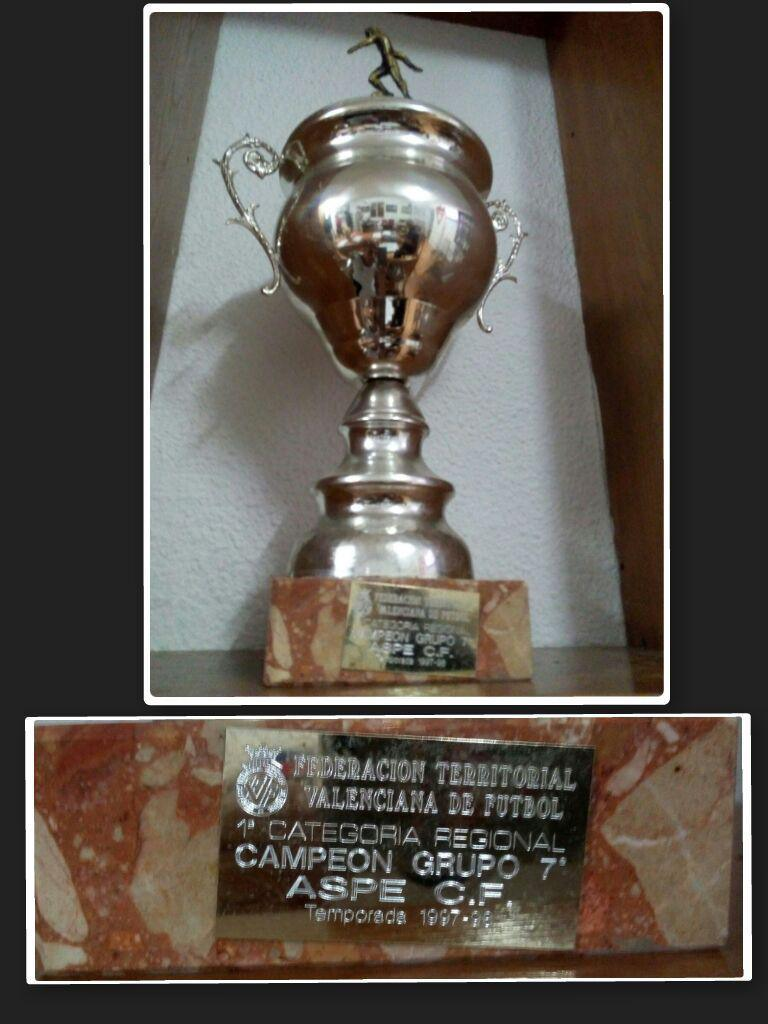 Copa de Campeones de esa temporada 97/98