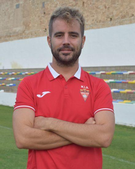 Ángel González Pavía es entrenador del Aspe UD