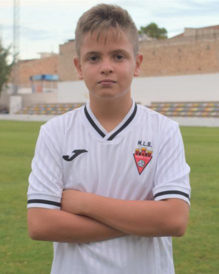 Jordi Parras Giménez es jugador del Aspe UD Infantil