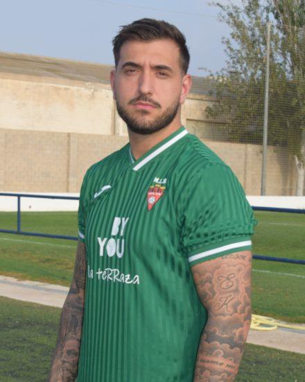 Andoni Zamora Clavel es jugador del Aspe UD Senior B