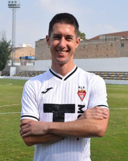 Daniel Castroverde es jugador del Aspe Unión Deportiva senior A.