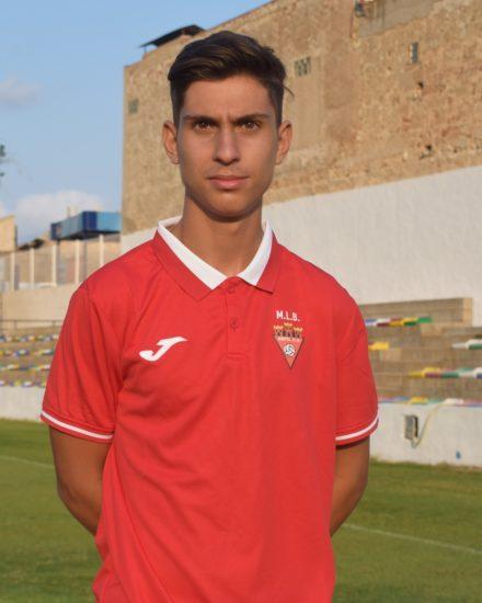 Darío Serrano es entrenadrod del Aspe UD Prebenjamín
