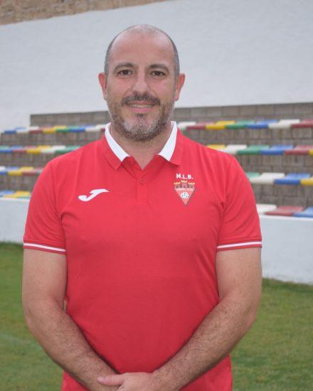 Diego Zapata es entrenador del Aspe UD Senior