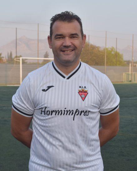 Bernardo García es jugador del equipo Veteranos del Aspe Unión Deportiva.