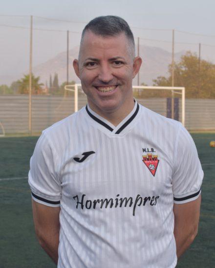 Pablo López Alfonso jugador del Aspe UD Veteranos