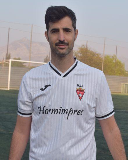 Carlos Sánchez es jugador del equipo Veteranos del Aspe UD