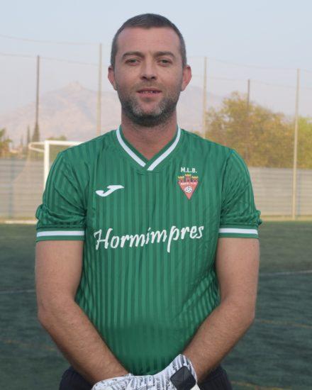 Fernando Verdú Botella (Roco) es jugador del Aspe UD Veteranos