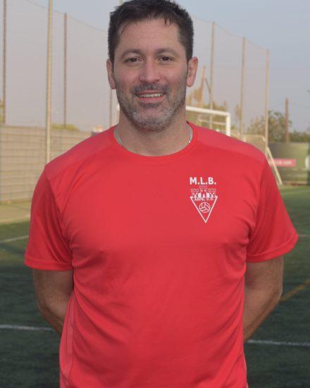 Antonio García Mira - Carasa , es jugador del Aspe UD Veteranos