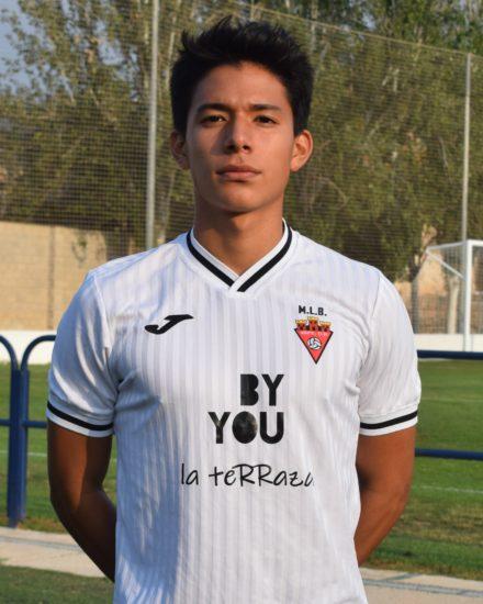 Jan Marco Novoa Huaman es jugador del Aspe UD B