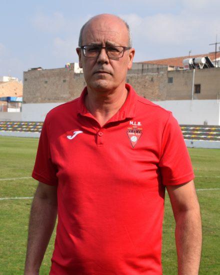 Miguel Corbí Carbonell es entrenador del Aspe UD