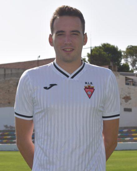Óscar Gómez Hernández es jugador del Aspe Unión Deportiva Senior