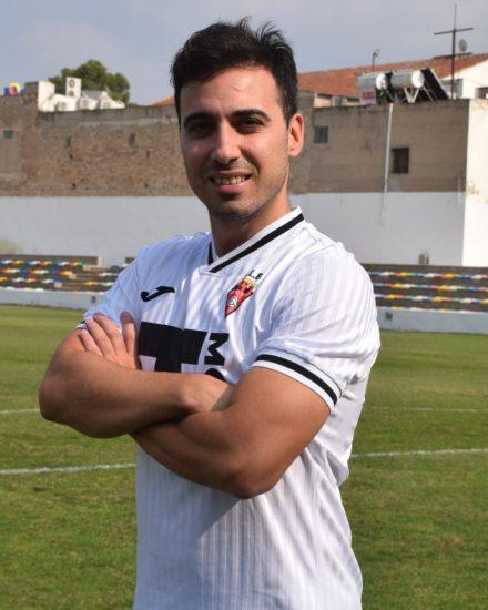 Jose Esquembre Campillo es jugador del Aspe UD Senior A.
