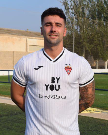 Daniel Miralles, Porti, Jugador del Aspe Unión Deportiva Senior B